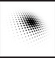 dot pattern halftone dots design halftone pattern vector image