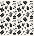 furniture seamless pattern background vector image vector image