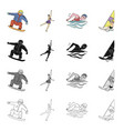 olympics achievement win and other web icon in vector image vector image