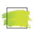 art brush paint abstract texture background vector image vector image