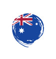 australia flag vector image vector image