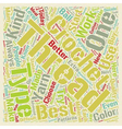 crochet thread text background wordcloud concept vector image vector image