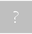Question computer symbol vector image vector image