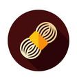 roll of yarn icon vector image
