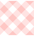 Rose Quartz White Diamond Chessboard Background vector image vector image