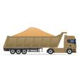 truck semi trailer concept 11 vector image vector image