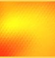 warm orange yellow trendy mosaic backdrop design vector image