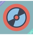 CD or DVD icon - vector image