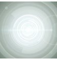 Abstract technology circles and digital light vector image vector image