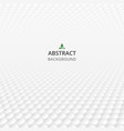 abstraction of polygonal gray and white geometric vector image vector image