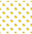 Calendar pattern cartoon style vector image vector image