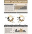 Common Infographic Template vector image vector image