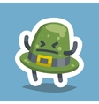 Emoticon Icon Angry Hat vector image vector image