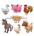Funny farm vector image vector image