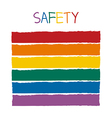 Safety Color Tone without Name vector image vector image