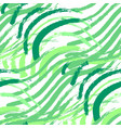 seamless pattern of abstract green grass vector image
