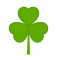 shamrock icon isolated vector image