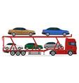 truck semi trailer concept 13 vector image vector image