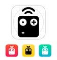 Wireless remote icon vector image