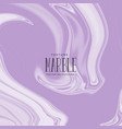 abstract liquid marble purple texture vector image vector image