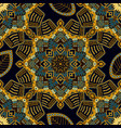 abstract ornamental seamless pattern colorful vector image
