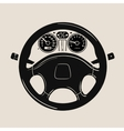 Car steering wheel icon