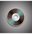 DVD CD disc Computer disks Realistic image vector image