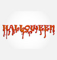 halloween word party background vector image vector image