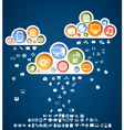 icons rain vector image vector image