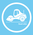 Road roller vector image vector image