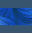 abstract background of blue color curved lines vector image vector image