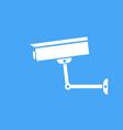 Camera surveillance protection icon vector image