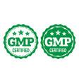 gmp good manufacturing practice vintage grunge