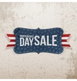 Independence Day Sale patriotic Emblem vector image vector image