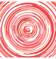 psychedelic abstract circular stripe pattern vector image vector image