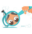 colorful with scientific instruments vector image vector image