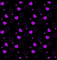 dark purple pink seamless layout with vector image vector image