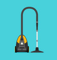 flat vacuum cleaner vector image vector image