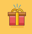 gift icon set of great flat icons use for vector image