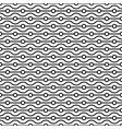 seamless small circles and wavy linear grid vector image vector image