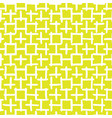 abstract hand drawn seamless pattern yellow vector image