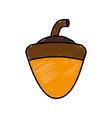 acorn icon image vector image vector image