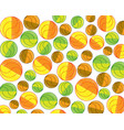 colorful ball pattern design vector image vector image