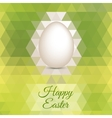 Easter Egg mosaic background vector image vector image