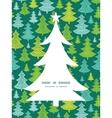 holiday christmas trees Christmas tree silhouette vector image vector image