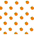 orange fruits citrus seamless pattern decoration vector image vector image