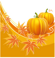 thanksgiving border vector image vector image
