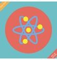 Atomic Symbol Icon - vector image vector image