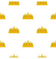 crown pattern flat vector image vector image
