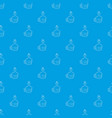 drink pattern seamless blue vector image vector image